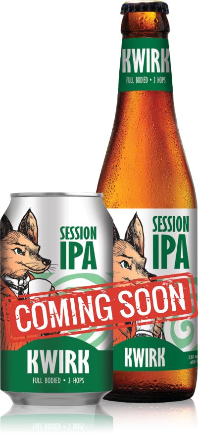 Kwirk Session IPA Bottle Coming Soon